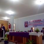 Perayaan Ekaristi oleh Pastor Pius Berces, Pastor Adi Wiratma, dan Pastor Lukas Dirman